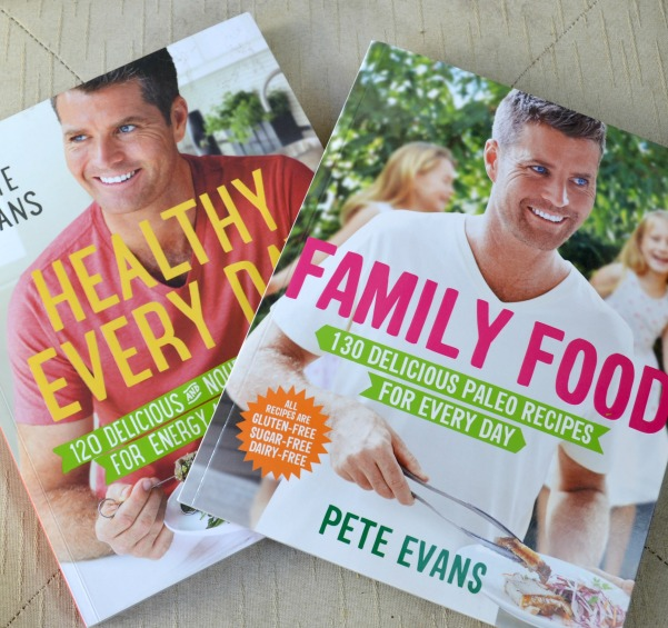 pete evans cookbooks